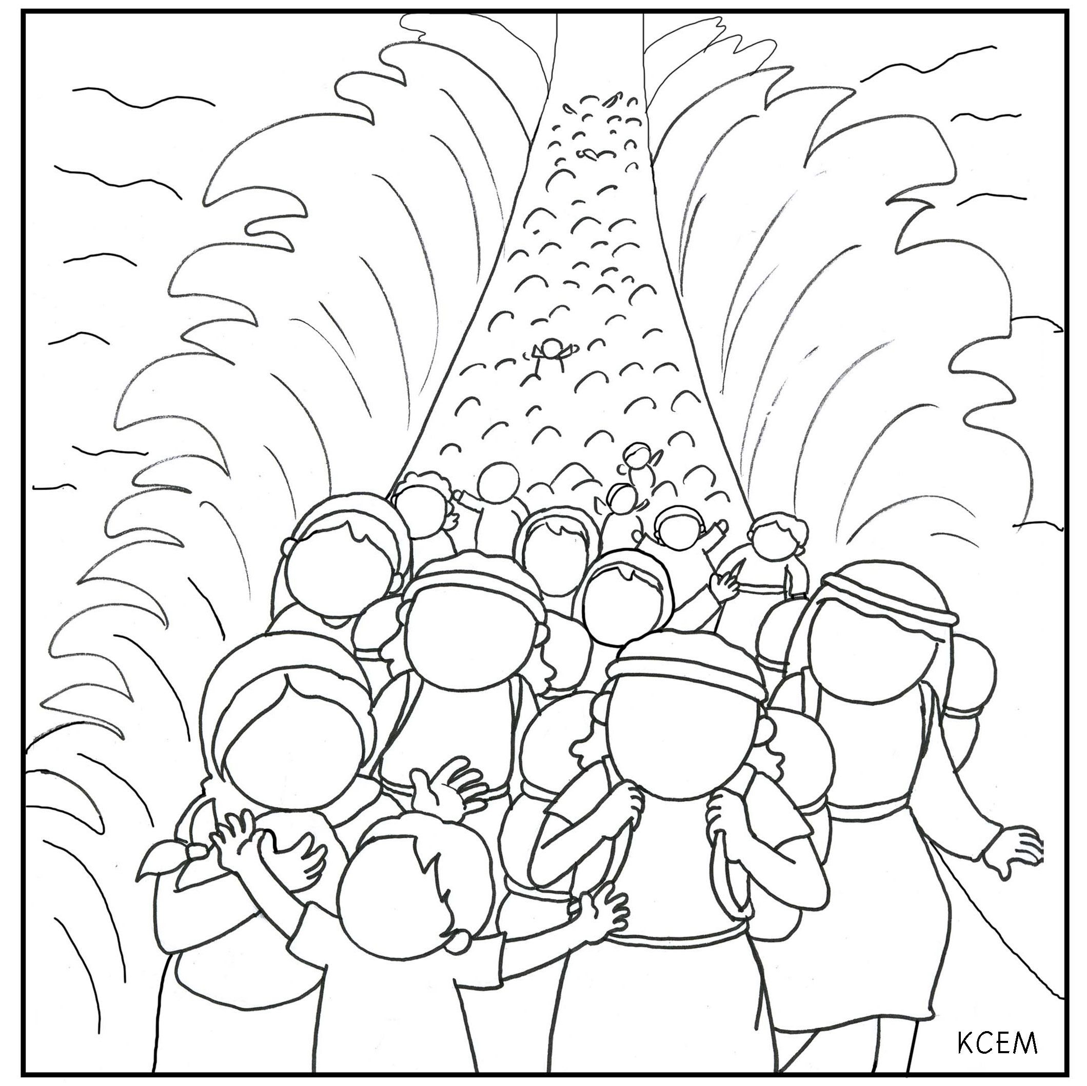 Coloring Pages Red Sea Red Sea Colouring Pages Parting The Red