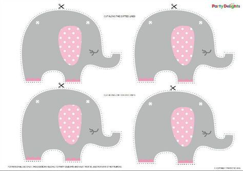 Free printable elephant baby shower bunting elephant baby showers free printable elephant baby shower bunting party delights blog filmwisefo