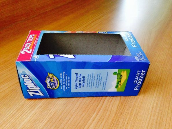 You might want to save your leftover ziploc boxes when you see how