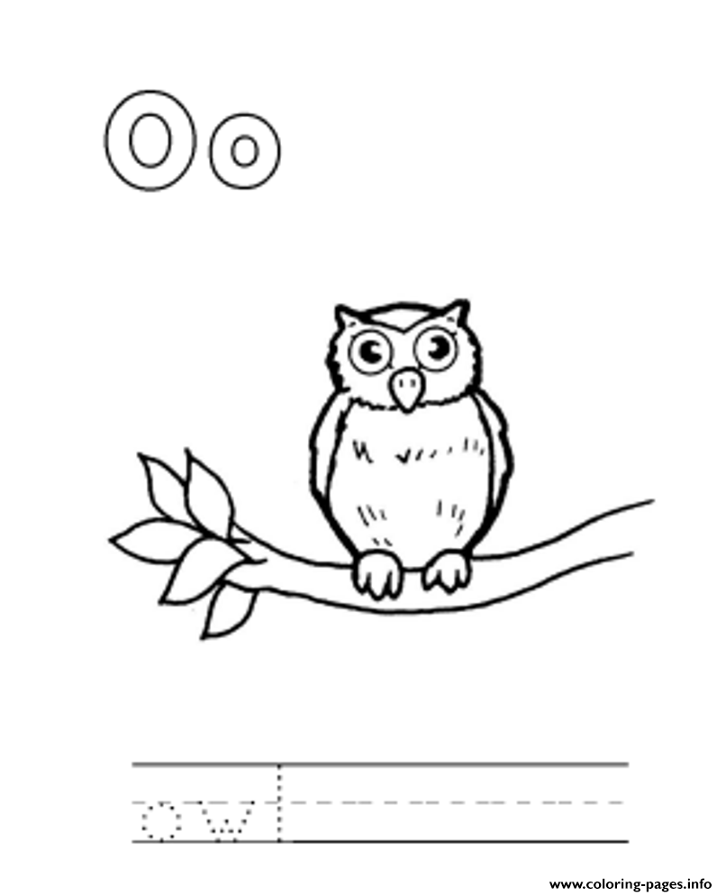 Print animal owl alphabet scd56 coloring pages | embroidery patterns ...