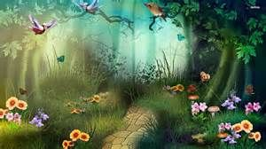 Magic Fairy Garden Wallpaper Arthouse 696009 Fairies