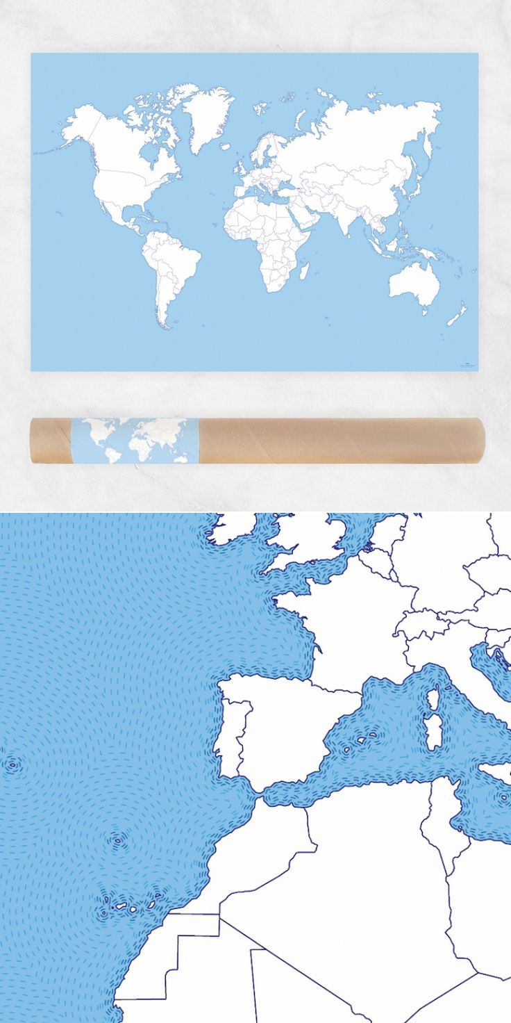 Preorder coloring world map poster color posters and handmade items gumiabroncs Images