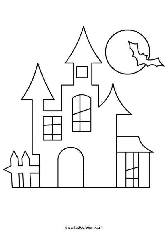 Halloween Coloring Page Disegni Di Halloween Halloween Attivita Di Halloween