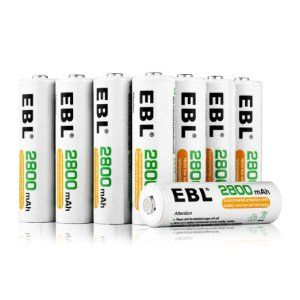Top 10 Best Rechargeable Aa Batteries In 2021 Topreviewproducts Battery Storage Rechargeable Batteries Battery Sizes