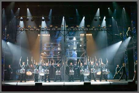 Theatres and schools stage lighting for events and productions
