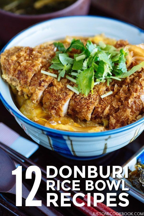 Photo of 12 Donburi (Japanese Rice Bowls) Recipes • Just One Cookbook