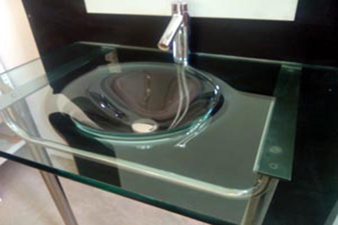 Lavabos Para Bano De Vidrio