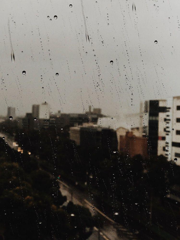 Autumn Tones City Rain Rain Window Rain Wallpapers