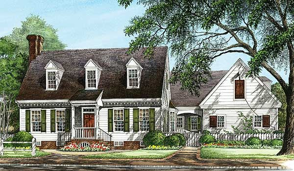 Warm And Inviting 32564wp Cape Cod Traditional 1st