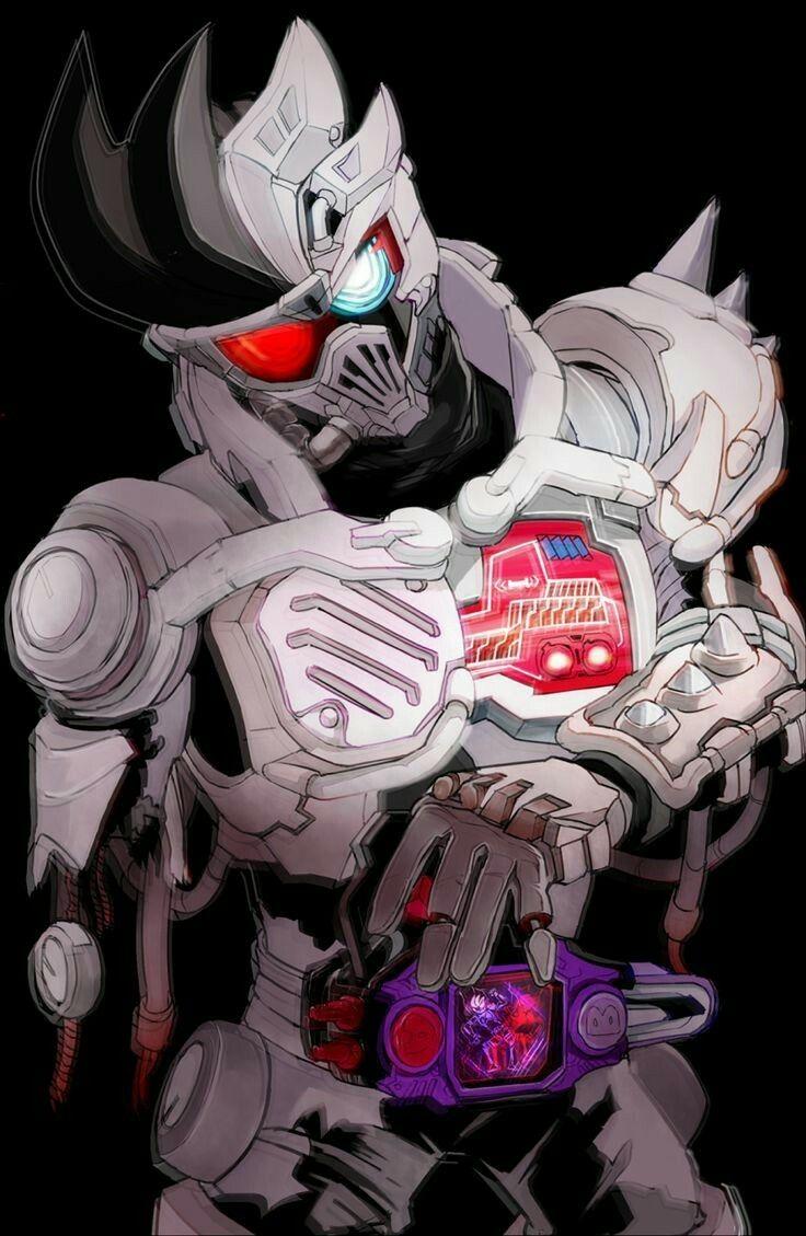 Pin oleh Hac Su Vuong di Kamen Rider Ex Aid Seni anime