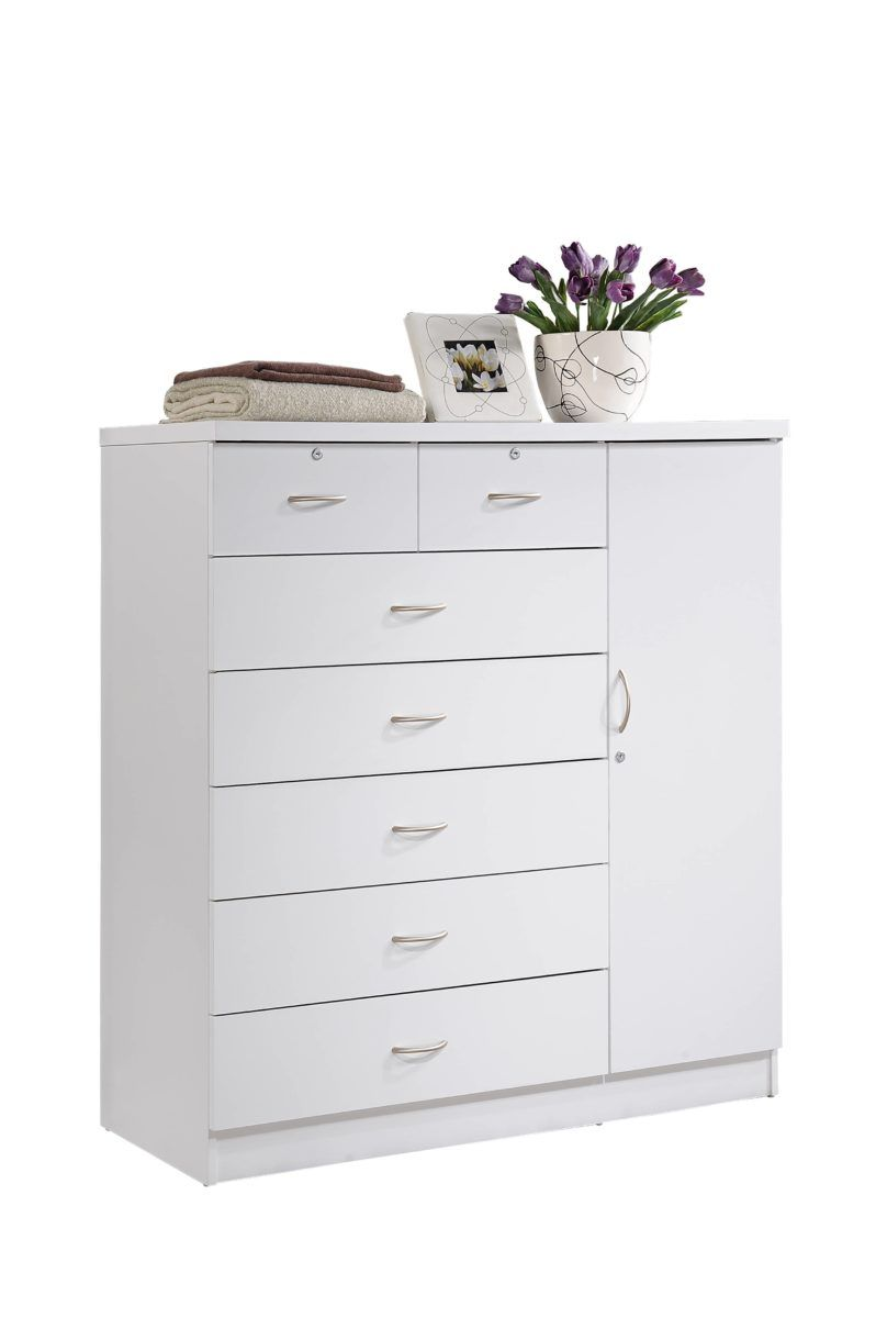 Hodedah 7 Drawer Dresser With Side Cabinet Equipped With 3 Shelves White Walmart Com In 2021 Chest Of Drawers Decor Drawers 7 Drawer Dresser [ 1200 x 798 Pixel ]