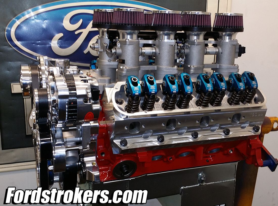 Build Your Small Block Ford Stroker Engine Ford Motor Ford V8 Ford