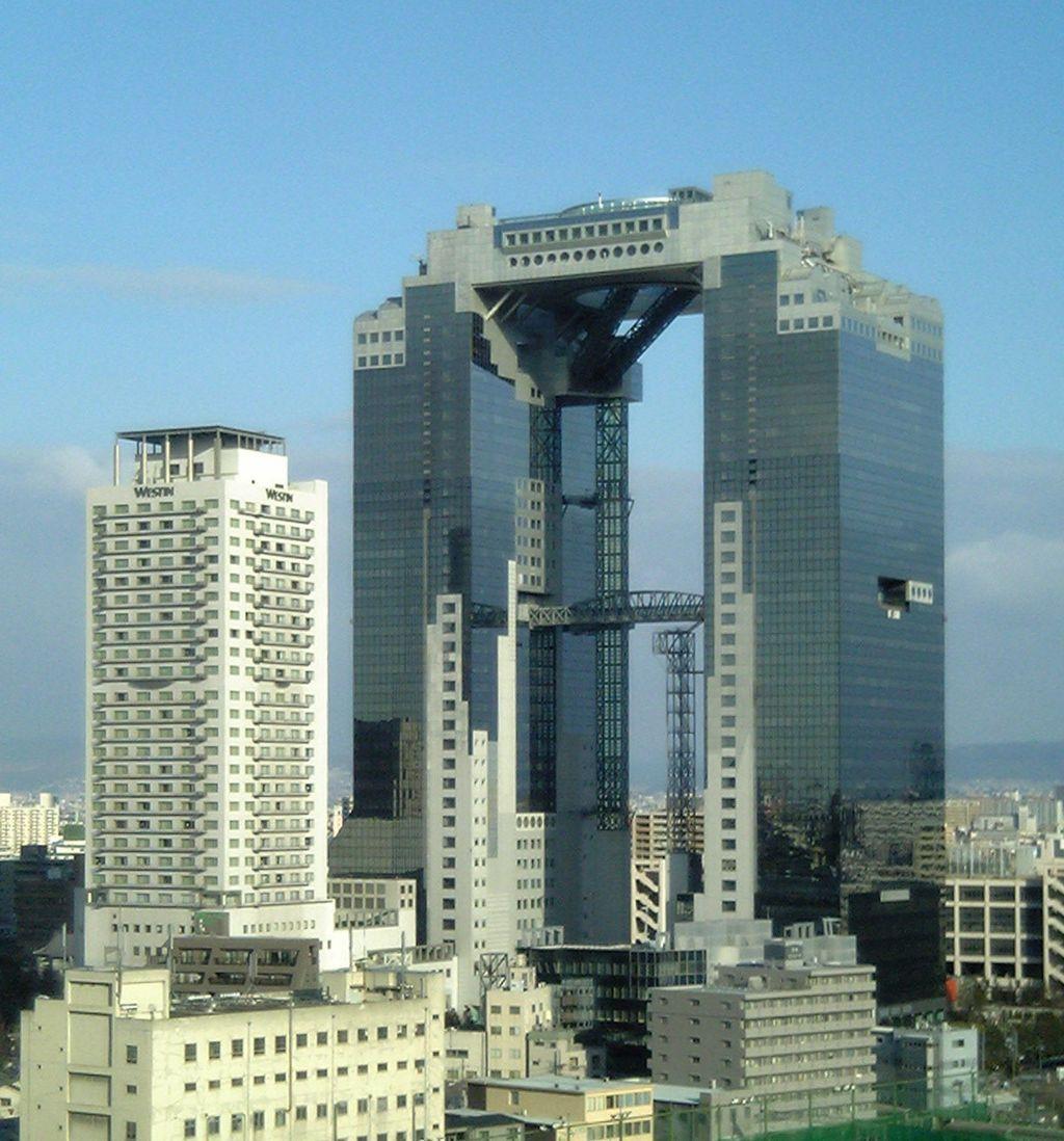 Hiroshi Hara | Umeda Sky building | Osaka, Japón | 1988-1993 ...