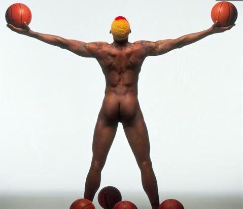 Titans dennis rodman nake naked