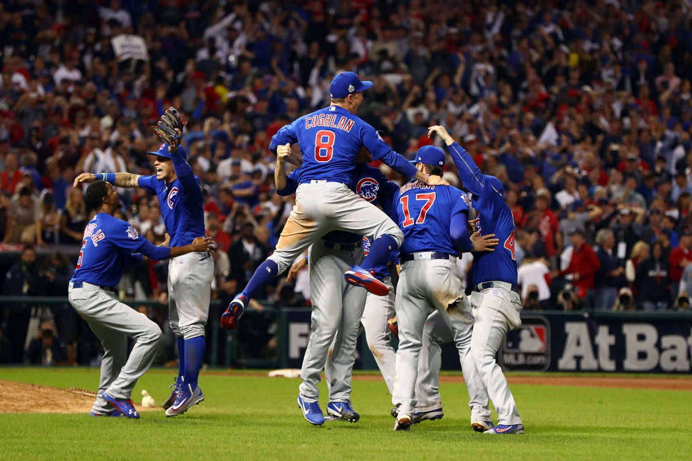 The Chicago Cubs Win the 2016 World Series of Hugging