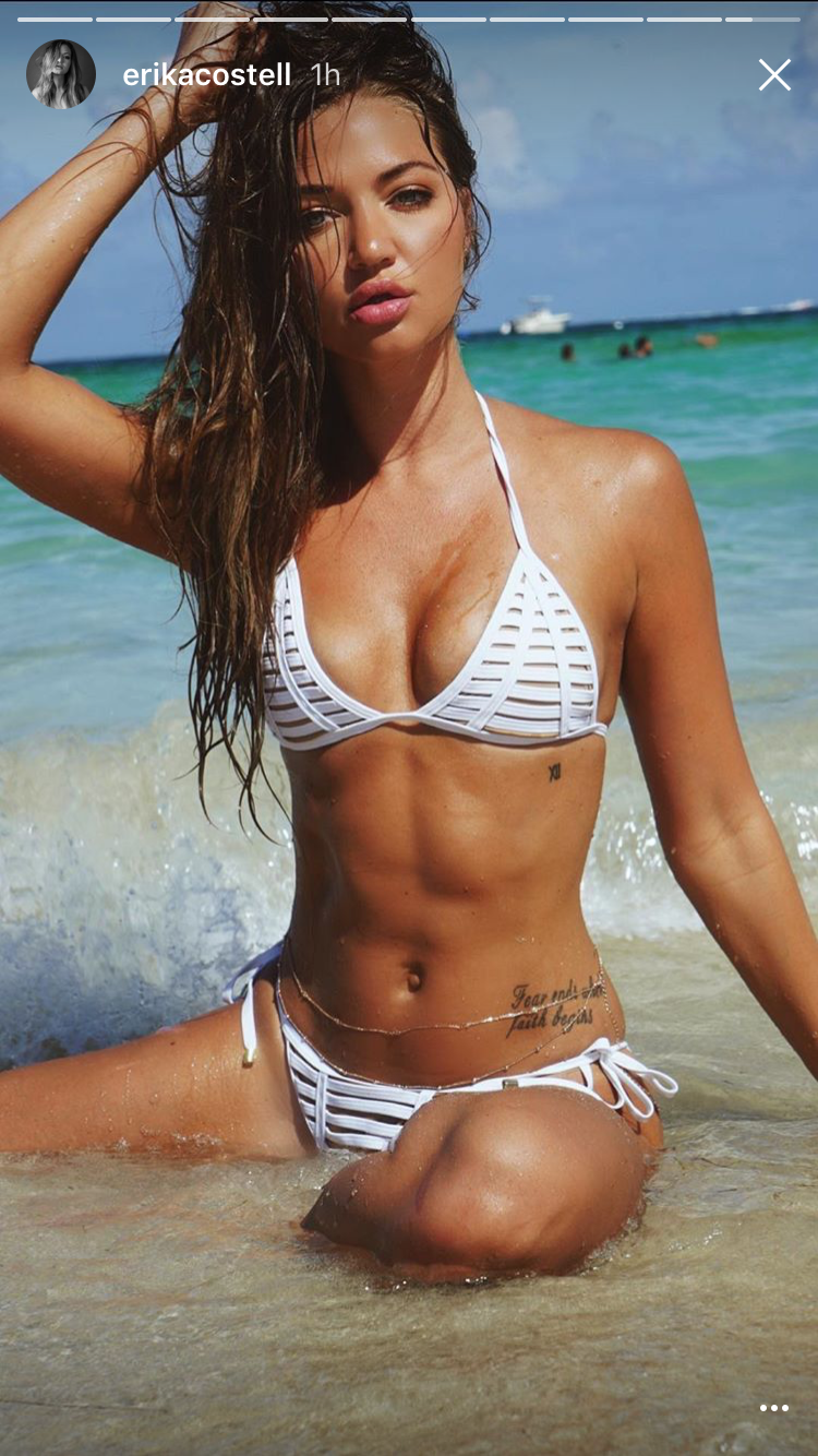 erika usa Bikini national team