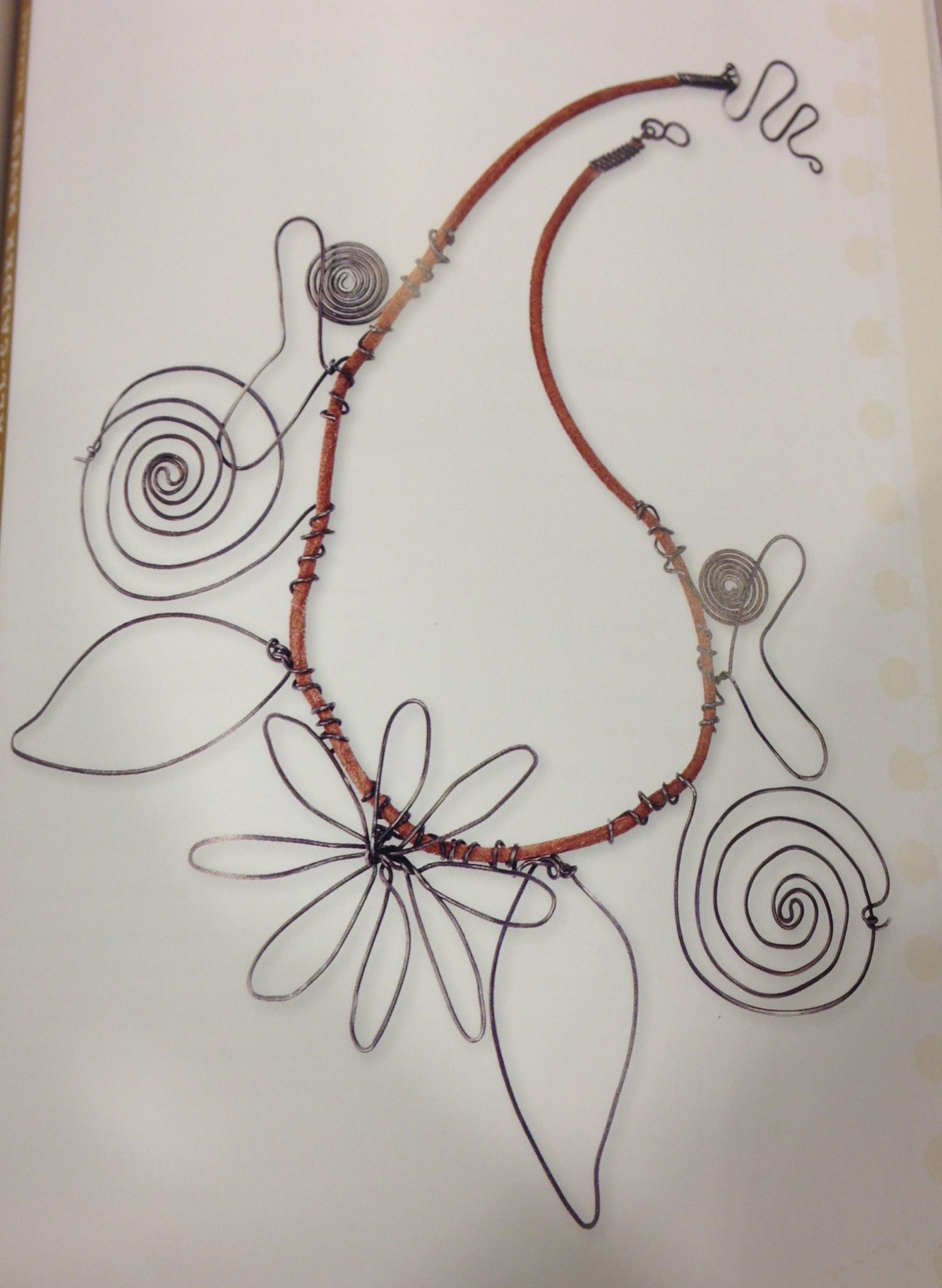 Wire jewelry idea | Jewelry | Pinterest | Wire, Wire jewelry and Jewelry