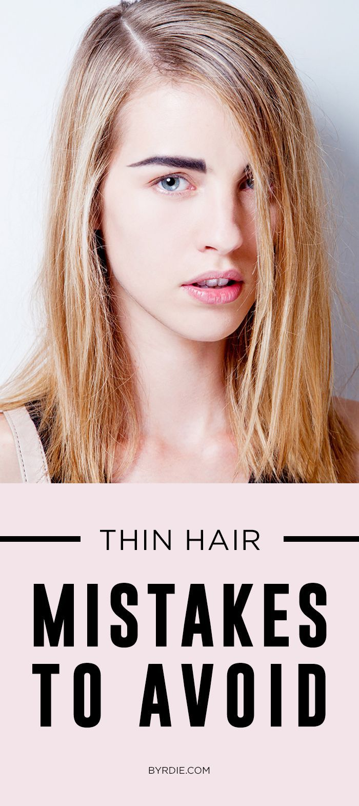 the one mistake that's ruining your thin hair | pinterest | thin