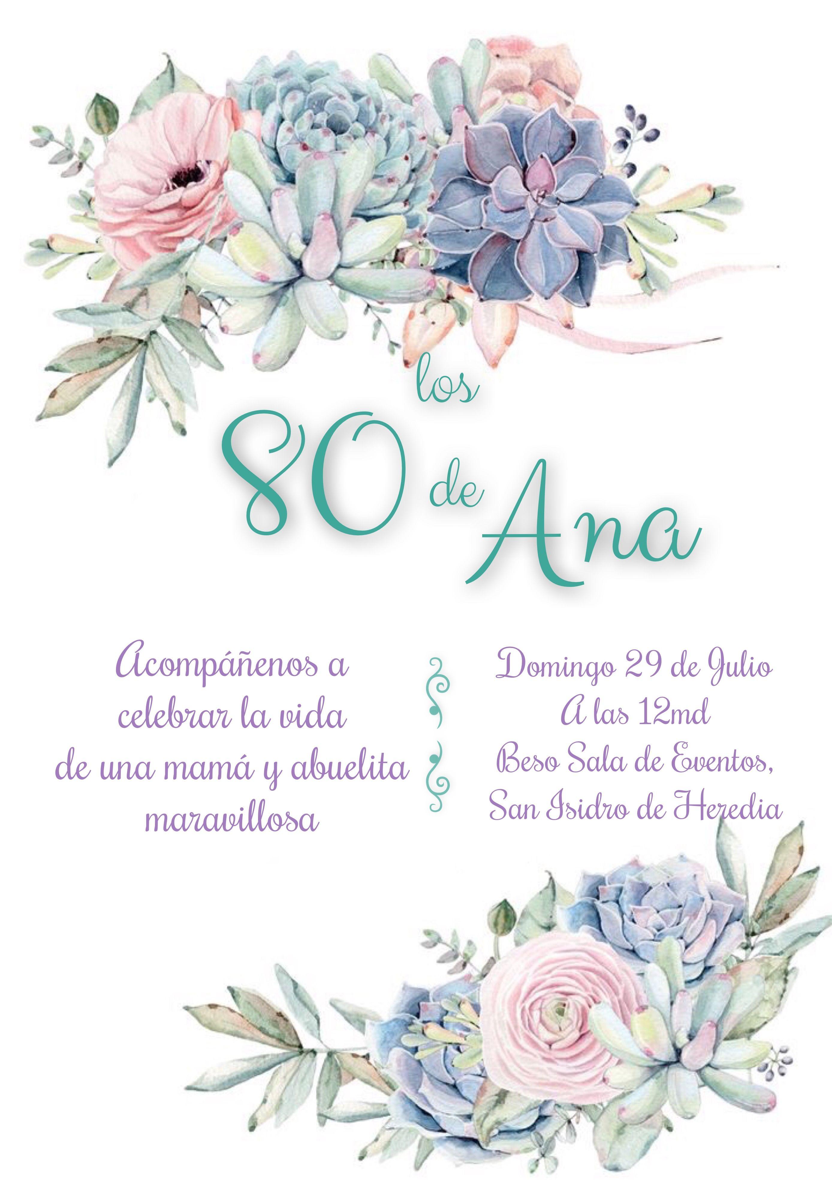 Pin De Patry En 80 Pirulos En 2019 Invitacion Cumpleaños