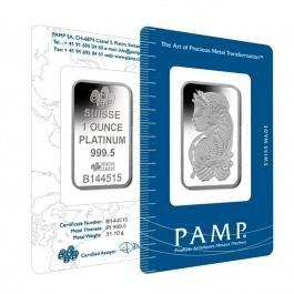 1 Oz Pamp Suisse Platinum Bar 9995 Fine In Assay Pampsuisse Platinumbarsbullion 1ozplatinumbar Preciousmetal Bullionexchan Silver Bars Platinum Fortuna