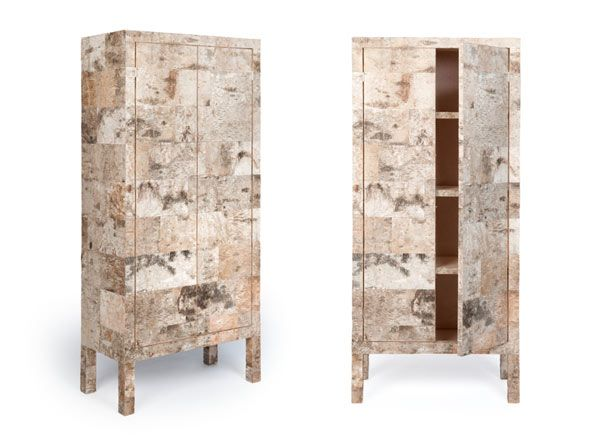 Werner Neumann S Ostentatious Organic Birchwood Furniture Collection