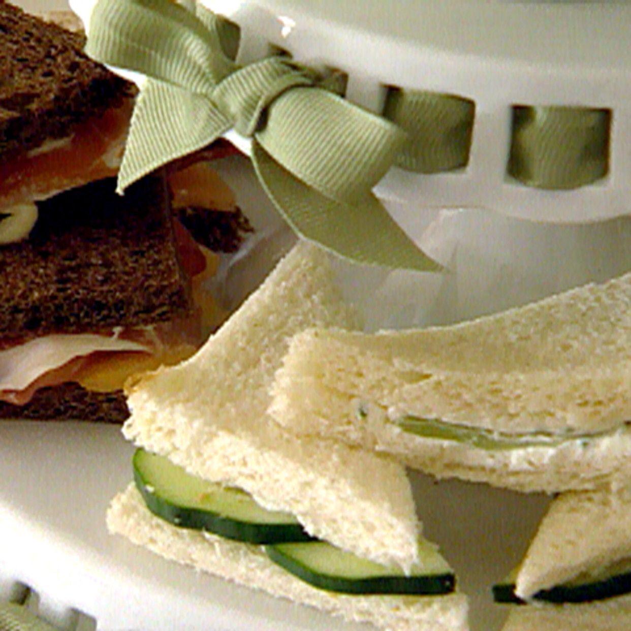 Tea Sandwiches Recipe Tea sandwiches recipes