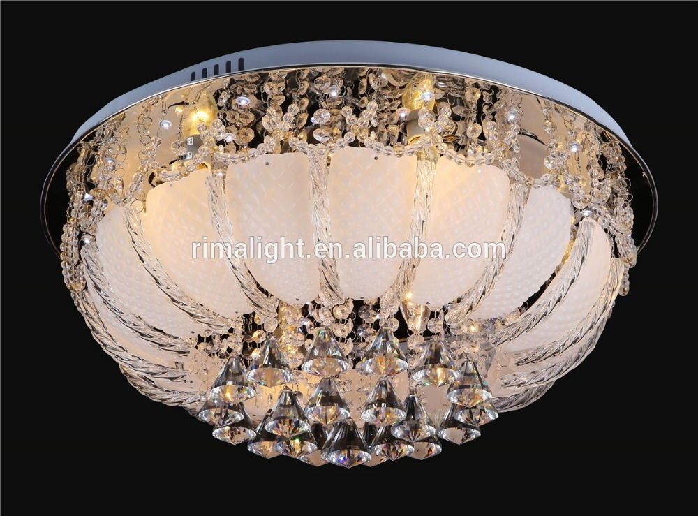 Free Shipping New Led Crystal Ceiling Lamp With Mp3 Music Light Modern Led Ceiling Lights For Li Crystal Ceiling Lamps Ceiling Lights Modern Led Ceiling Lights