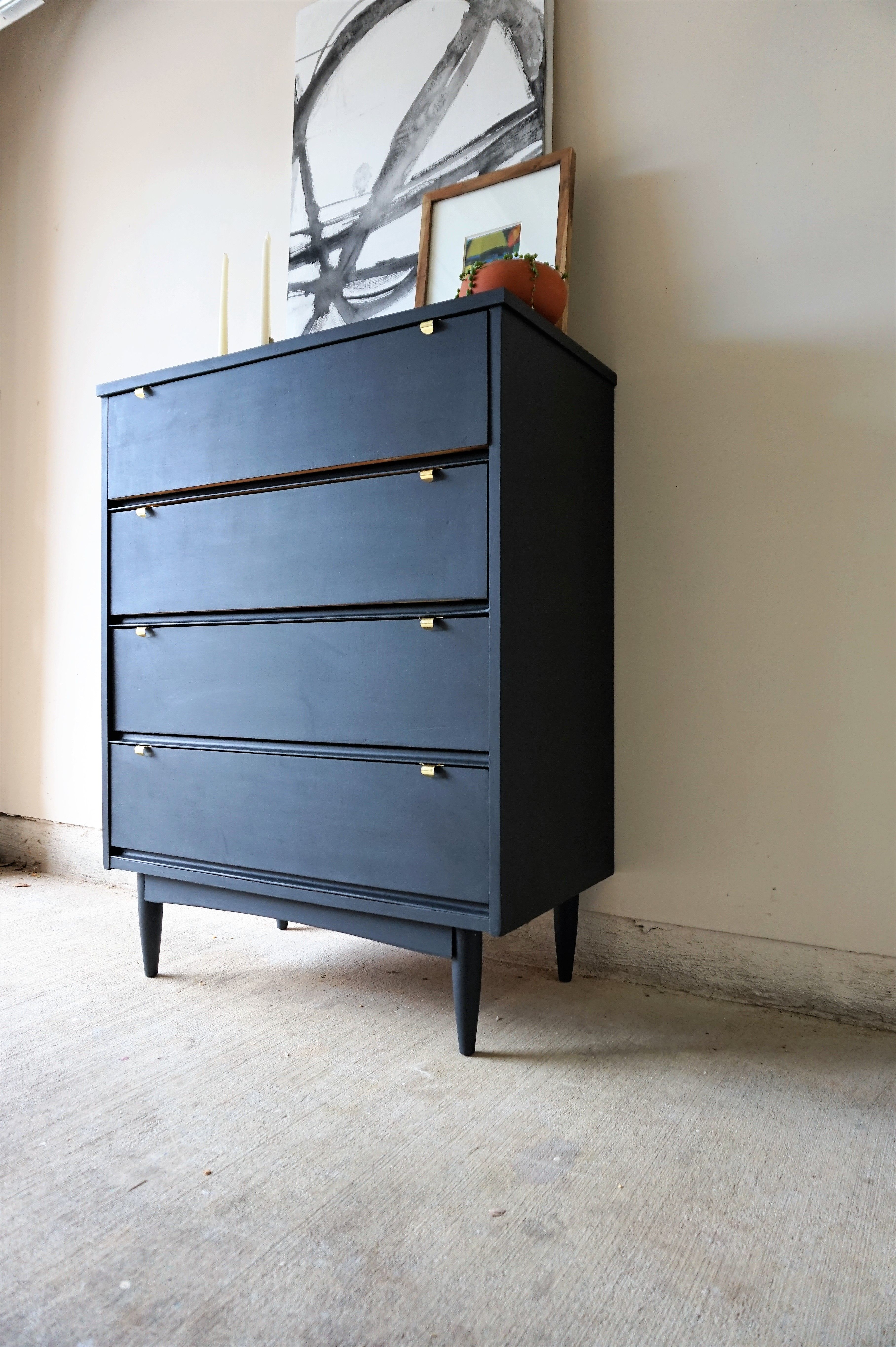 How To Refurbish Furniture: Damaged Dresser Gets A Makeover