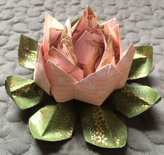 Origami Lotus Flower Lotus Flower Origami And Lotus