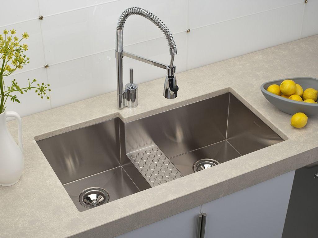 Modern Kitchen Sinks Stainless Steel  Httpyonkoutei Gorgeous Stainless Kitchen Sinks Review