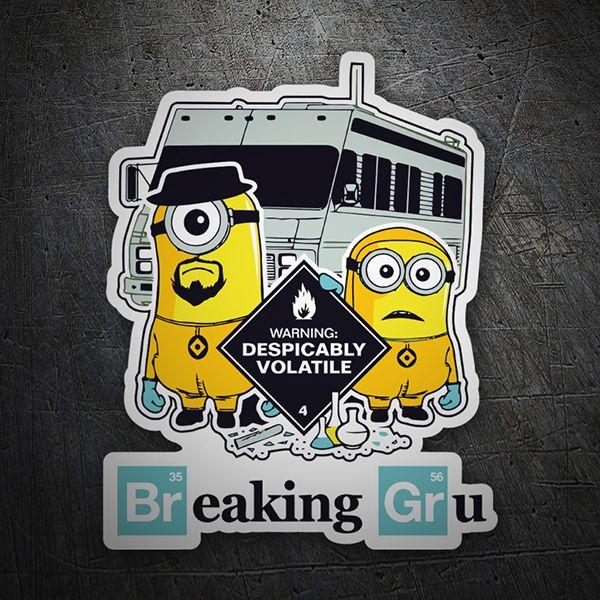 Pegatinas: Breaking Bad Minion #skate #surf #pegatina #sticker ...