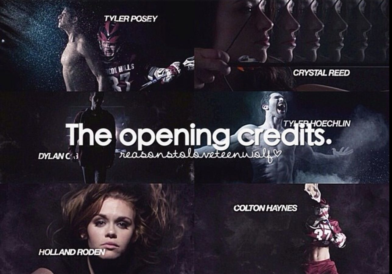 """Reasons to love teen wolf"" YES!! these opening credits are THE BEST!!! i thought I was crazy to like them so much!!"