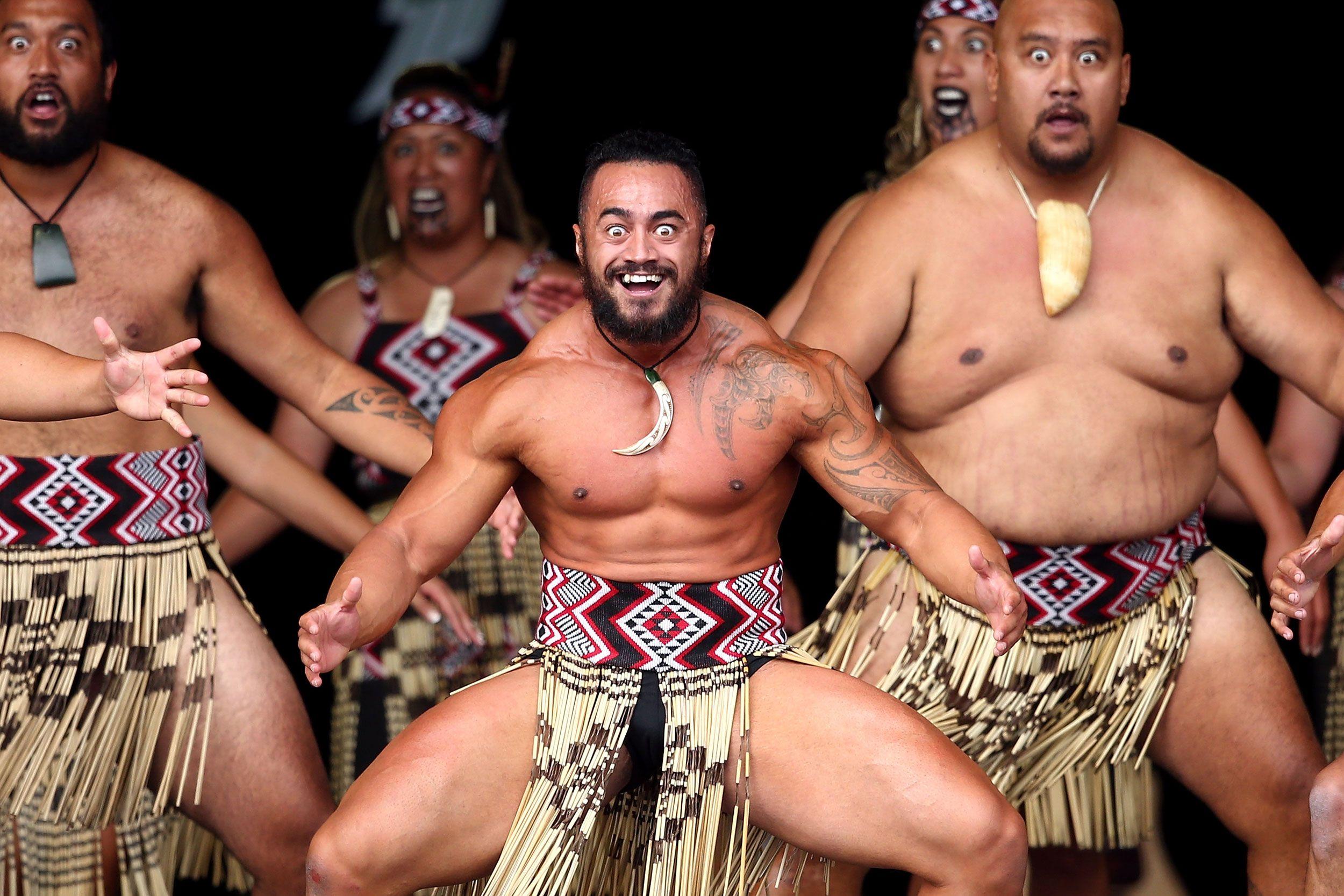Maori Dancers: PsBattle: Maori Dancer At The National Kapa Haka Festival
