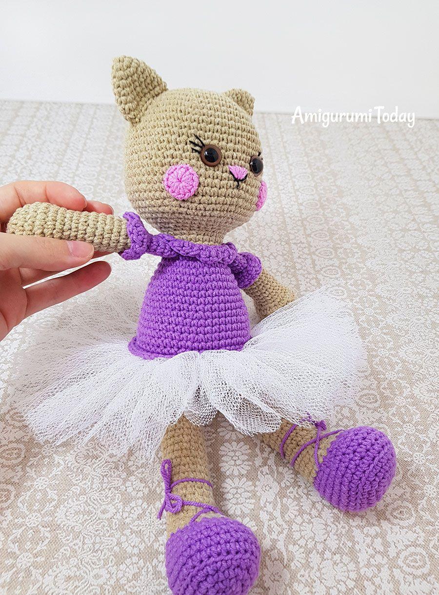 Es ist soweit, Tammy die kleine Ballerina ist nun als Anleitung (erst  einmal in Deutsch) erhältlich. 💗 Ein großes Dankeschön an die… | Häkeln  amigurumi kostenlos | 1218x900
