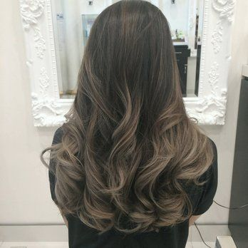My ashy balayage with grey tones by the coloring wizard julianne hair style pmusecretfo Choice Image