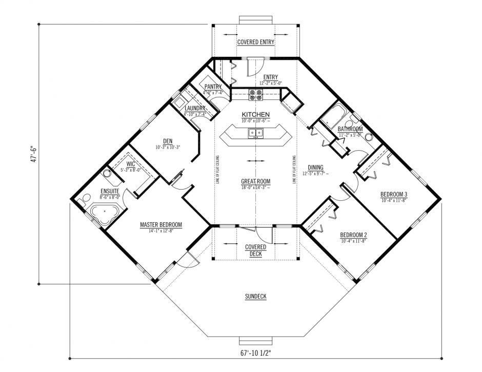 Double Wide Crossover Duct : The athabasca classic prefabricated home plans winton