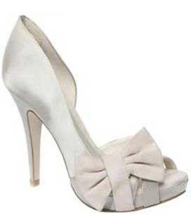 Budget Bridal Shoes: Moda In Pelleu0027s U0027Imogenu0027 In Champagne Satin