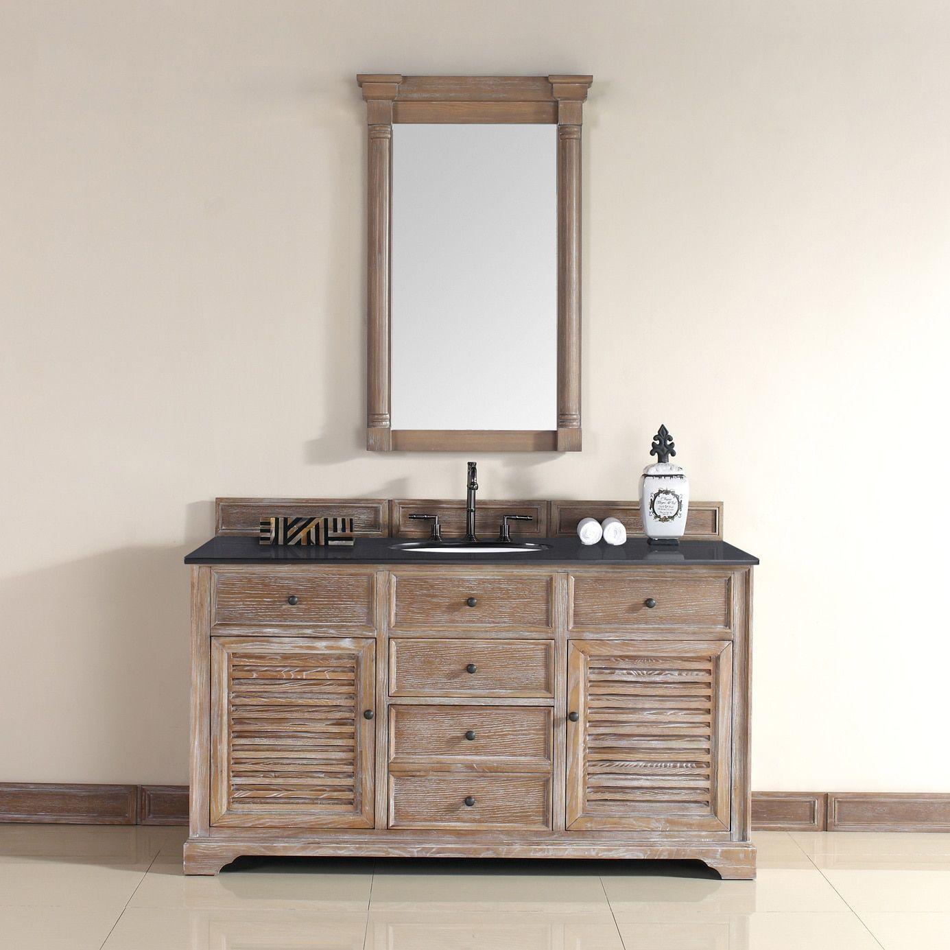 James Martin Savannah 60-inch Single Bath Vanity Cabinet (No Top