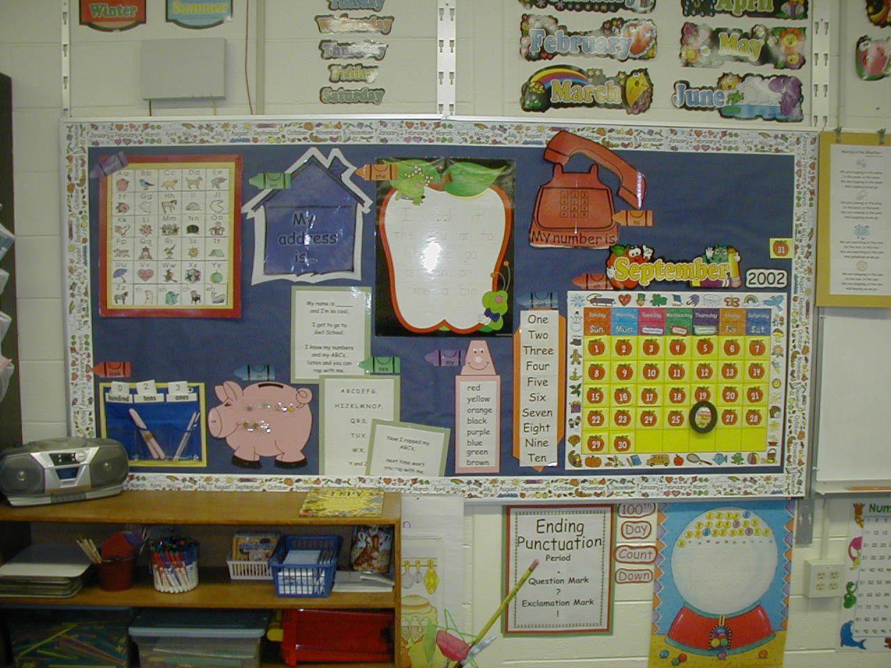 First Grade Interactive Calendar