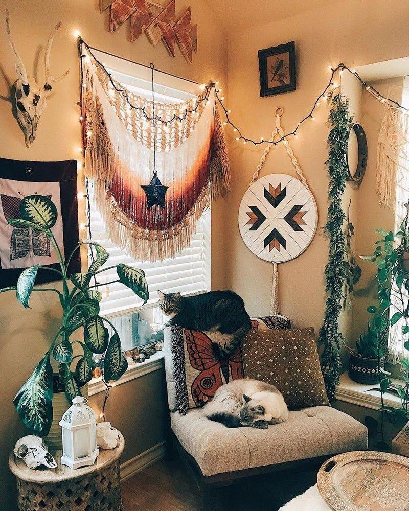 15+ Hippie style hippie bedroom decorations ideas