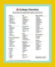 20+ listes de colisage collégiales avec tout ce dont vous aurez besoin | Dorm Room Wall De …