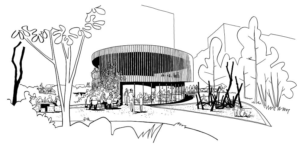 WERK (2019) Gemeinschaftshäusern für die Parkstandorte