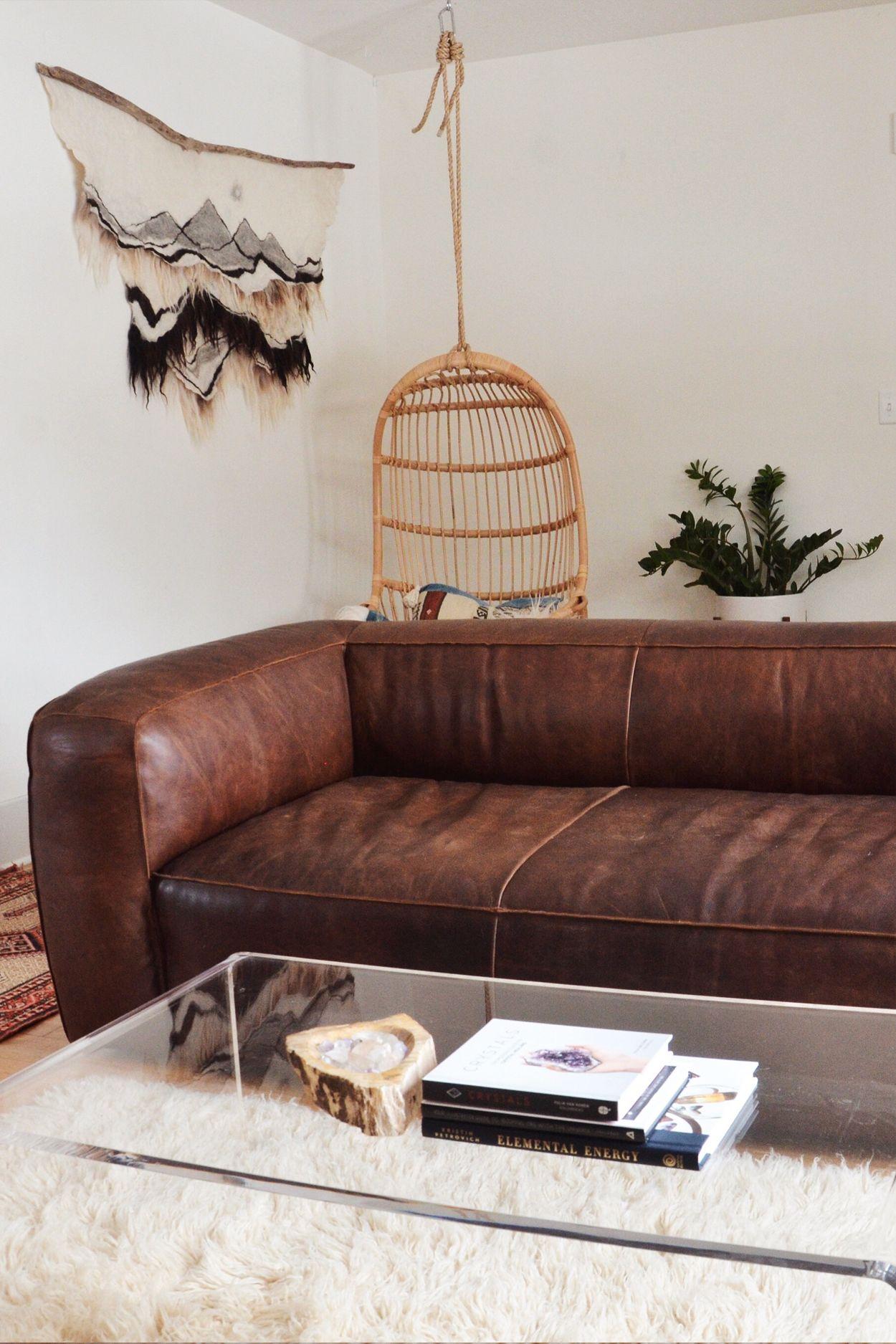 Brilliant Cigar Rawhide Brown Sofa In 2019 Low Back Sofa Furniture Theyellowbook Wood Chair Design Ideas Theyellowbookinfo