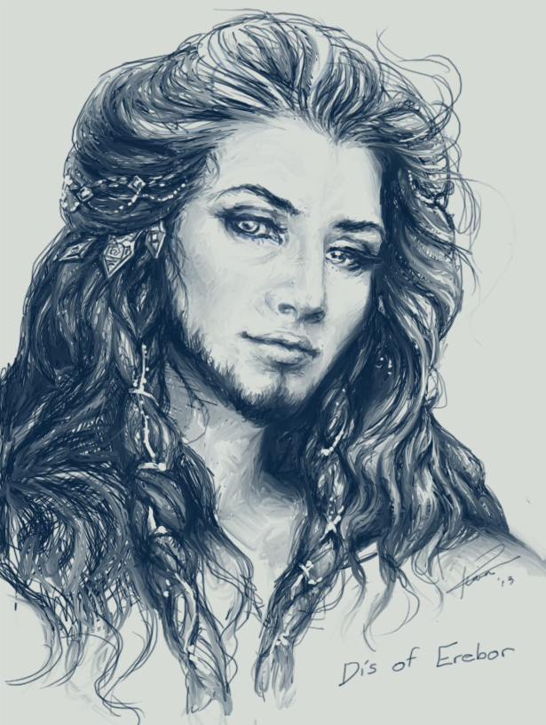 Dis of Erebor ~ Thorin's sister by Kotorigaro deviantart com and yes