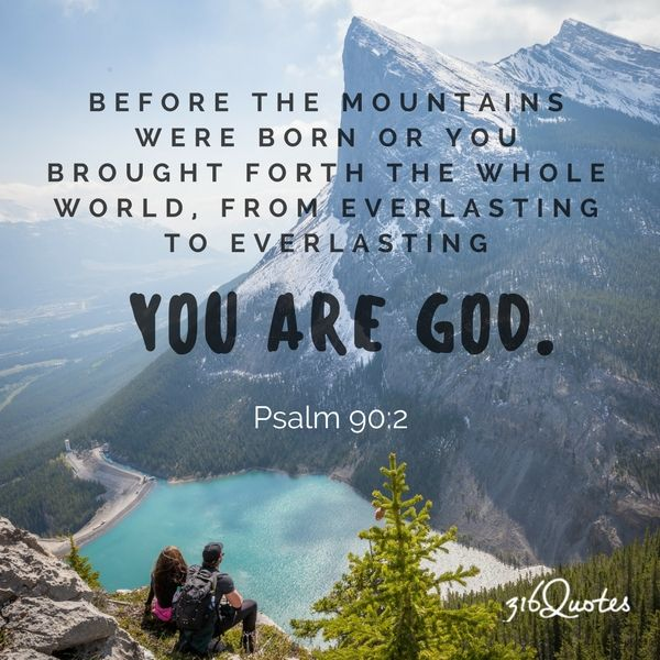 Image result for Psalms 90:2