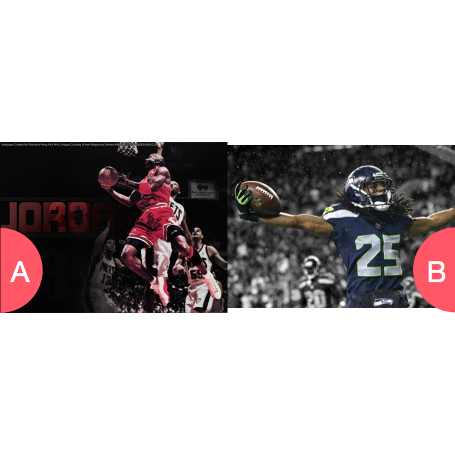 Basketball or Football? Click here to vote @ http://getwishboneapp.com/share/4070484