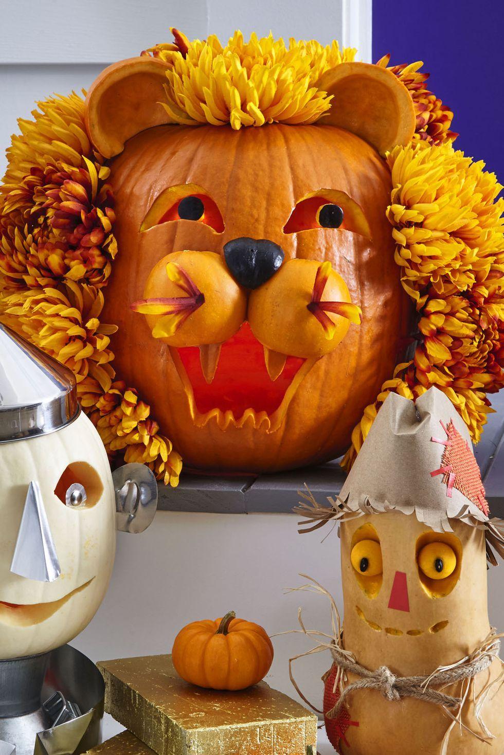 genius pumpkin carving ideas for halloween pumpkin decrations