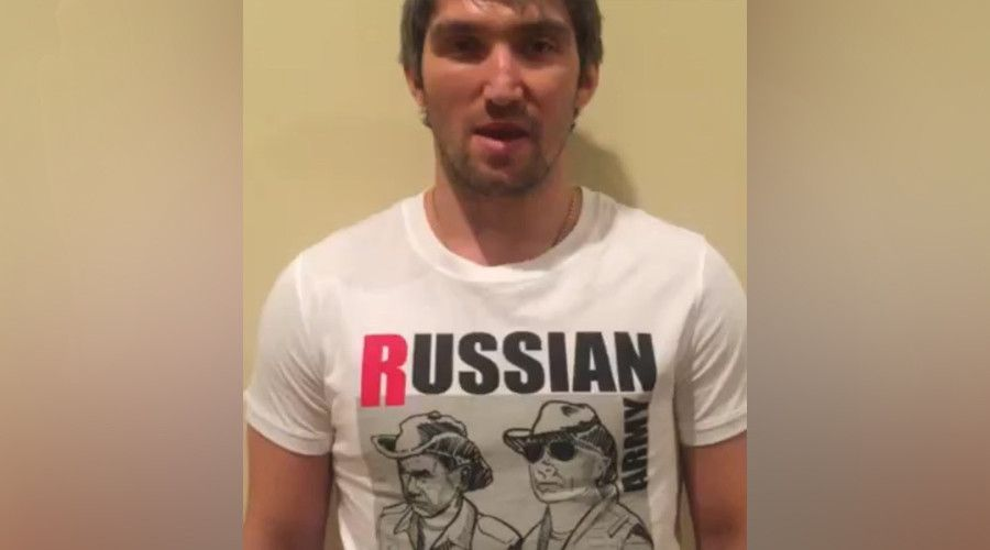 Ovechkin Wears Putin T-Shirt, Backs Fedor Chudinov For WBA Title Defense | Globist  Just two days after footballer Dmitri Tarasov caused outrage with a T-shirt tribute to Russian President Vladimir Putin, Alexander Ovechkin, captain of NHL team the Washington Capitals, has posted a video of himself on Instagram wearing a Putin T-shirt. Ovechkin's video is a message of support for Russian boxer Fedor Chudinov, the reigning WBA super middleweight champion who is defending his belt against…