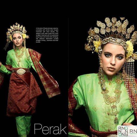 Image Result For Baju Tradisional Perak Traditional Dresses