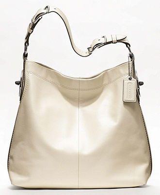 07d170e1f3 COACH PEYTON LEATHER SHOULDER BAG - Handbags   Accessories - Sale - Macy s